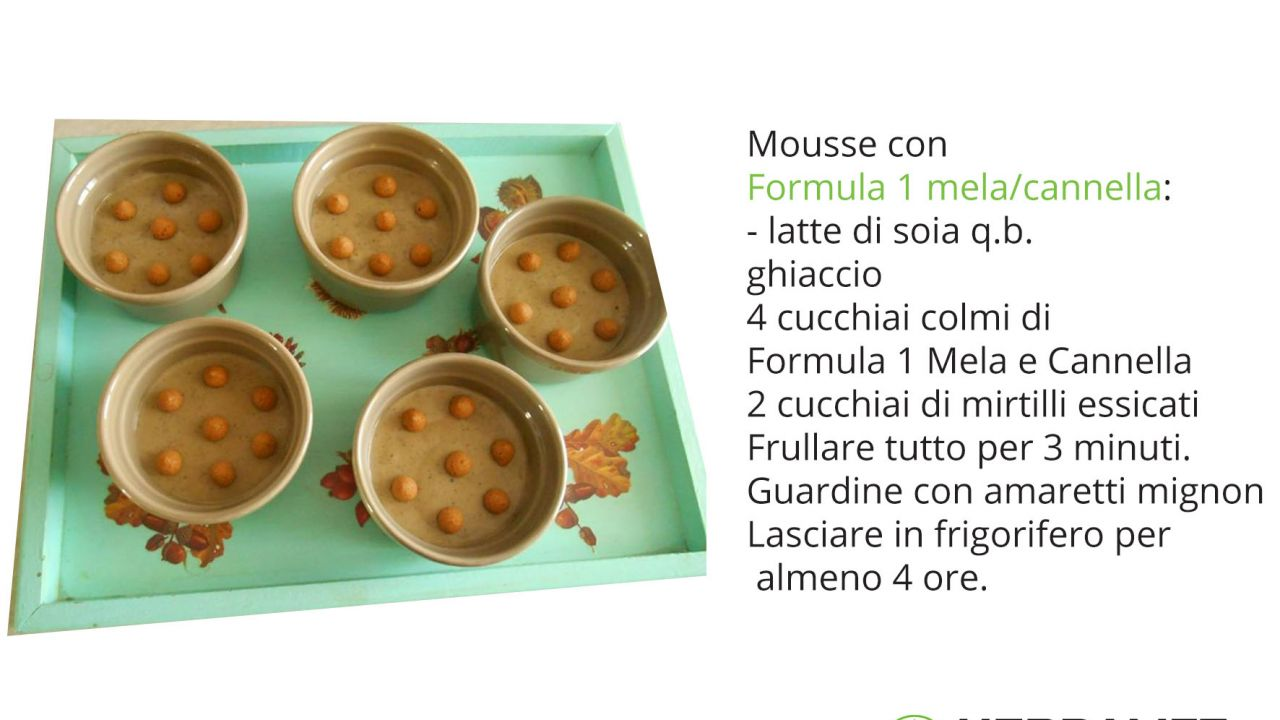 coppette mousse mela cannella
