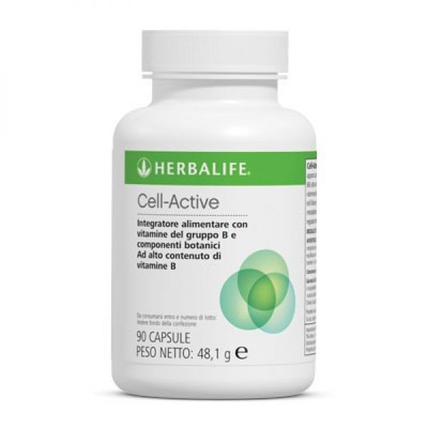 Cell - active Integratore di vitamine B1, B2, B6
