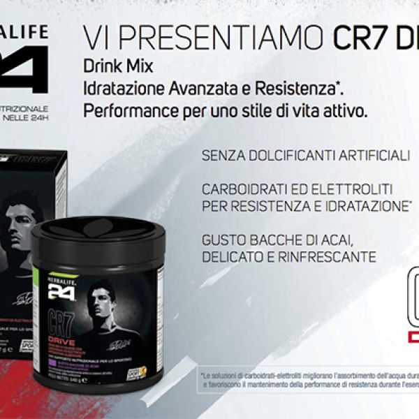 Herbalife - CR7Drive Drink Mix - barattolo