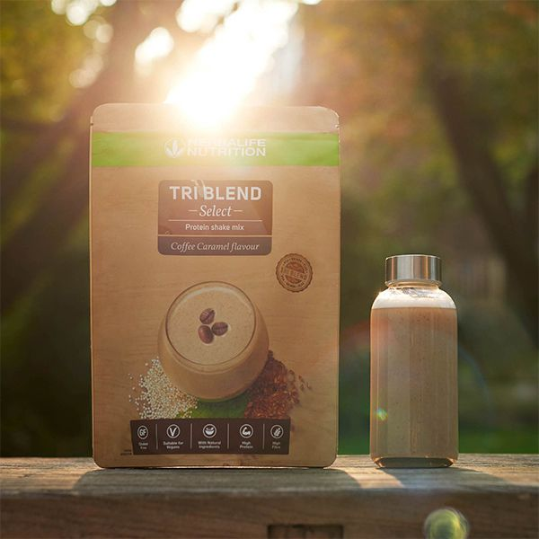 Triblend select coffee caramel